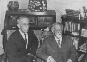 Zoltán Kodály bij Frid thuis, 1966