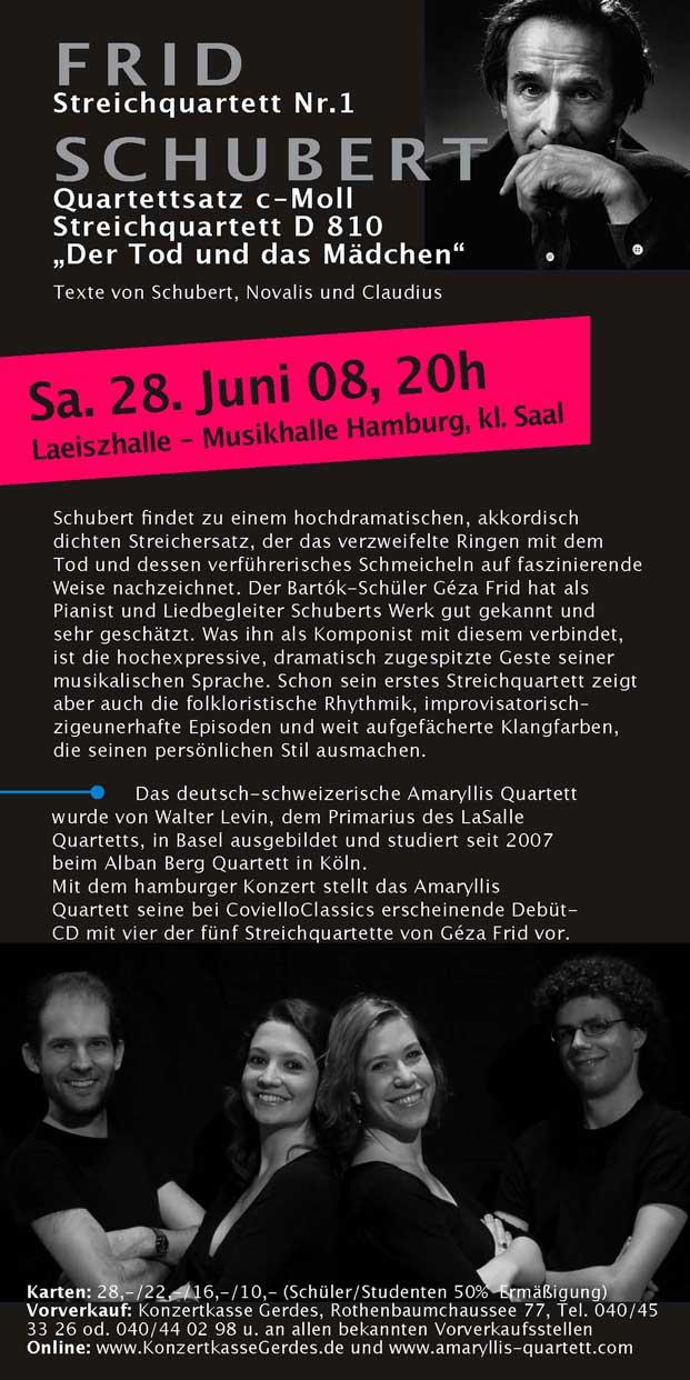 2008-06 Hamburg, de tweede Frid-cd