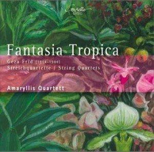 2008 - Frid-cd 'Fantasia Tropica', vier strijkkwartetten