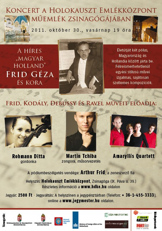 2011-10-30-Affiche-Frid-concert-Budapest