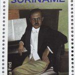 2019 Suriname: postzegel Géza Frid