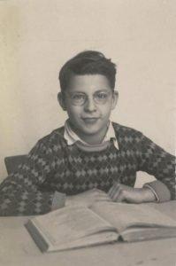 1950 - Schoolfoto Arthur, zoon GF