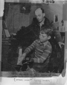 1950 - Arthur speelt zijn eerste (en laatste!) compositie voor
