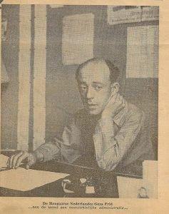 1954 - GF in zijn studeerkamer