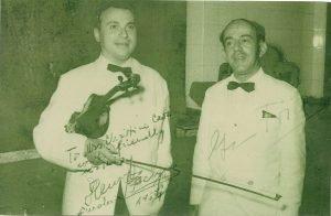 1956 - GF en Henrijk Szering op concerttournee in Indonesië