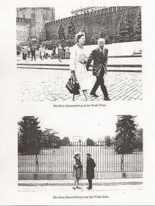 1963 - GF met Erna Spoorenberg op tournee in Moskou en Washington (Uit Frids autobiografie)