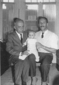 1969 - Drie generaties: Géza, Igor en Arthur Frid