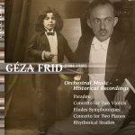 2018 Cover concert cd Géza Frid